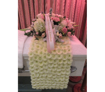 BLANKET CASKET COVER in Woodbridge NJ, Floral Expressions