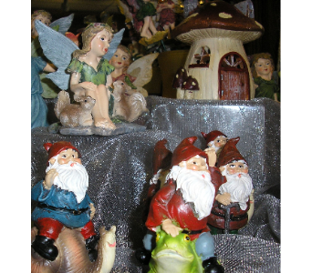 FAIRIES/HOUSES/GNOMES in St. Joseph MO, Butchart Flowers Inc & Greenhouse