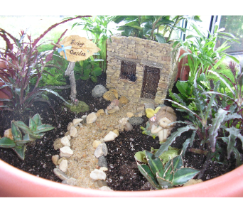 FAIRY GARDEN in St. Joseph MO, Butchart Flowers Inc & Greenhouse