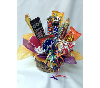 Candy Basket in Midwest City OK, Penny and Irene's Flowers & Gifts