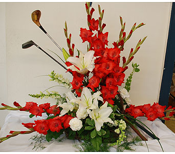 Golf Tribute in Hales Corners WI, Barb's Green House Florist