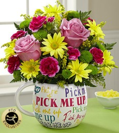 Pick Me Up Bouquet in Camp Hill and Harrisburg PA, Pealer's Flowers