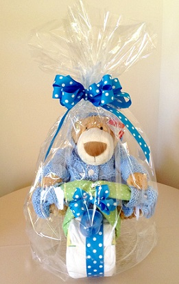 Motorcycle Diaper Cake in Stuart FL, Harbour Bay Florist