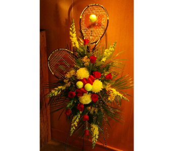 Custom sympathy arrangement in Saint Paul MN, Hermes Floral