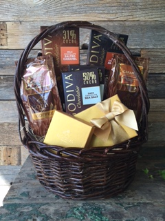 Devine Godiva Coffee and Chocolate Basket in Kerrville TX, Especially Yours