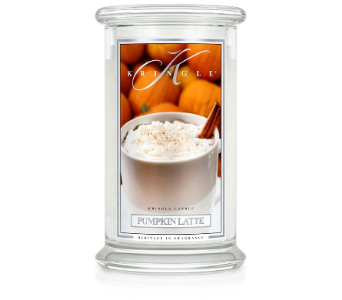 Pumpkin Latte scented candle by Kringle in Methuen MA, Martins Flowers & Gifts