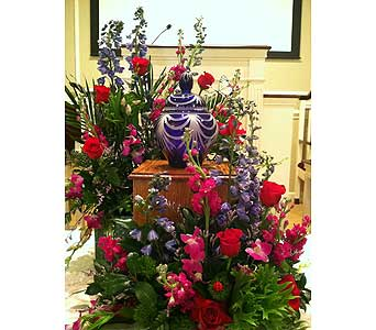 Cremation Tribute in Creedmoor NC, Gil-Man Florist Inc.