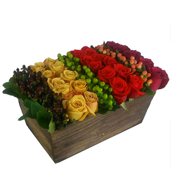 A Garden Rose Box in Fort Myers FL, Fort Myers Florist, Inc.