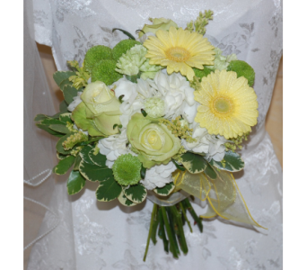Hand Tied Bridal Bouquet in Scarborough ON, Helen Blakey Flowers