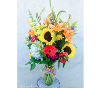 SUMMER GARDEN by Rubrums in Ossining NY, Rubrums Florist Ltd.