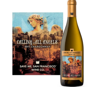 SaveMe Calling All Angels Chardonnay in Cleves OH, Nature Nook Florist & Wine Shop