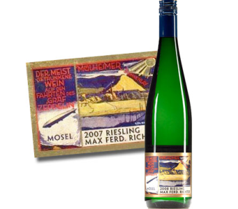 Max Ferd. Richter Zeppelin Mulheimer Riesling in Cleves OH, Nature Nook Florist & Wine Shop