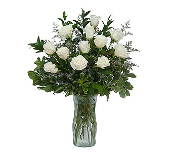 White Rose Elegance in Poplar Bluff MO, Rob's Flowers & Gifts