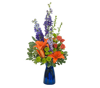 Cheer the Blues in Rockledge PA, Blake Florists
