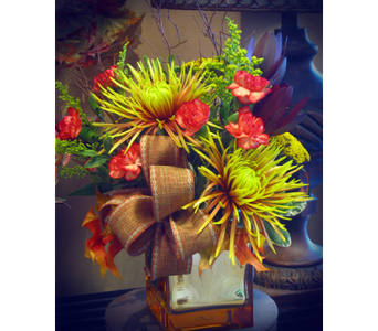 Golden Fall in Kennewick WA, Heritage Home Accents & Floral