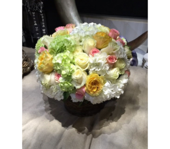 PASTEL CLOUD BOUQUET  in Bellevue WA, CITY FLOWERS, INC.