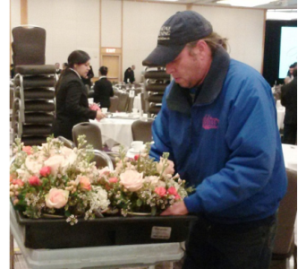 George, Driver in Princeton, Plainsboro, & Trenton NJ, Monday Morning Flower and Balloon Co.