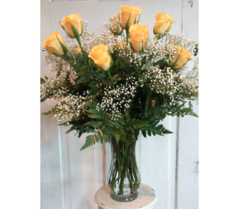 Dozen Yellow Roses   in Longmont CO, Longmont Florist, Inc.