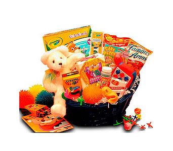 Kids' Stop Activity Basket