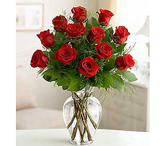 Rose Elegance!TM Premium Long Stem Red Roses