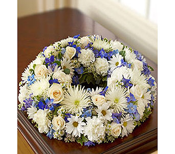 Remembering You!TM Blue & White