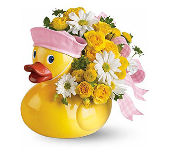 Go Grrrl!!TM Ducky Bouquet (Girl)