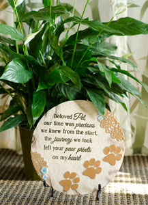 Beloved Pet Stone and Plant in Green Bay WI, Enchanted Florist