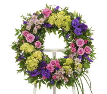 Bold Mix Wreath in Dallas TX, In Bloom Flowers, Gifts and More