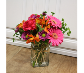 Vibrant Energy Bouquet in Fargo ND, Dalbol Flowers & Gifts, Inc.