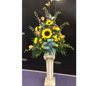 Custom Funeral Arrangement in Statesville NC, Brookdale Florist, LLC