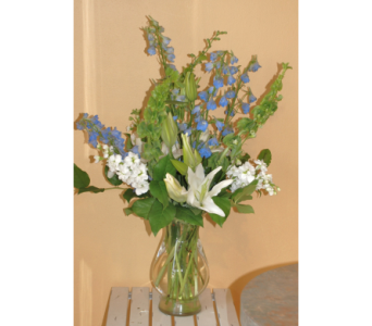 Ocean Blue by Barb in Hales Corners WI, Barb's Green House Florist