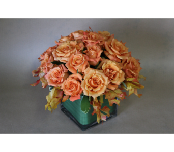 Sunset Roses in Birmingham MI, Tiffany Florist