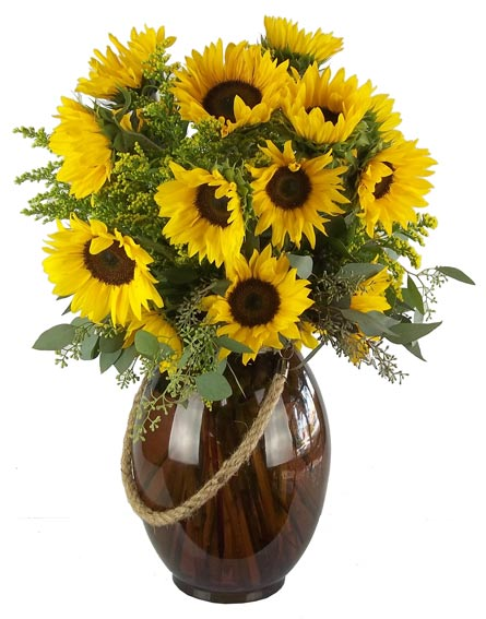Fall for Sunflowers in Las Vegas NV, A French Bouquet