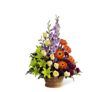 Forever Dear Arranement in Orange CA, Main Street Florist
