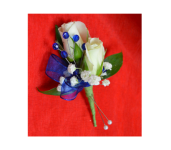 Miniature Rose Boutonniere in Easton MD, Robin's Nest