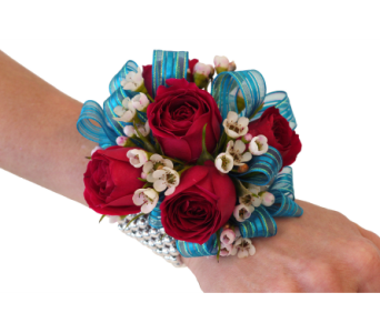 Party On Corsage in Dallas TX, In Bloom Flowers, Gifts and More