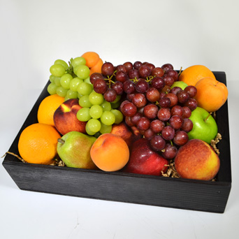 The Orchard Fruit Basket in Dallas TX, Dr Delphinium Designs & Events