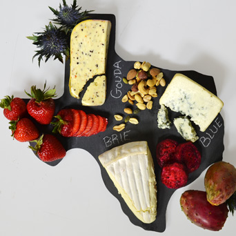 Slate Cheese Board - Texas in Dallas TX, Dr Delphinium Designs & Events