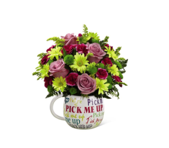 FTD Pick Me Up Mug in Chicago IL, La Salle Flowers