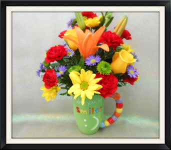 Send A Smile in Tyler TX, The Flower Box