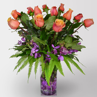 Premium Rose Medley in Dallas TX, Dr Delphinium Designs & Events