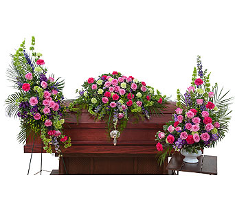 Forever Cherished Trio in South Hadley MA, Carey's Flowers, Inc.