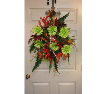 Bright Fall Wreath in Conway AR, Conways Classic Touch