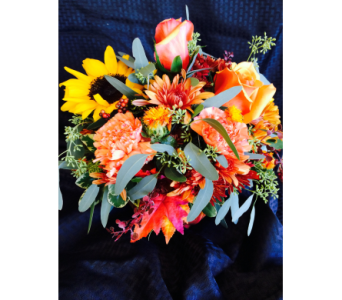 Fall Bounty in Kent WA, Blossom Boutique Florist & Candy Shop
