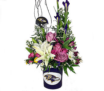 Raven''s Game Day in Baltimore MD, Raimondi's Flowers & Fruit Baskets