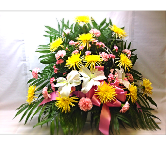 Filer's In Remebrance of Her Funeral Basket in Cleveland OH, Filer's Florist Greater Cleveland Flower Co.