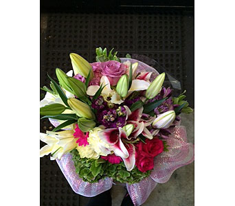 Beautiful Hand Tied in Kent WA, Blossom Boutique Florist & Candy Shop