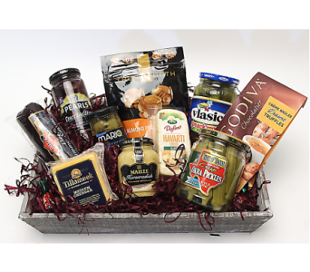 Gourmet Food Basket in Ft. Collins CO, Palmer Flowers
