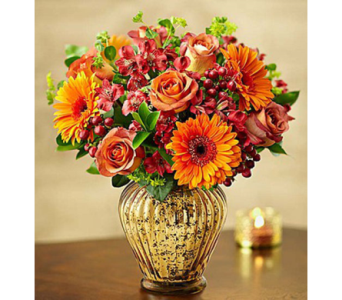 In Love with Fall Bouquet- Medium in El Cajon CA, Conroy's
