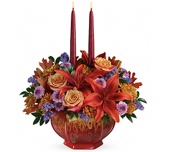 Autumn Ablaze Centerpiece